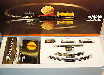 Märklin mini-club 8163 S Startpackung mit Sonderwagen Schock Bad Collection