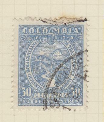 Ls78  Early Colombia Stamp  From An Old Album