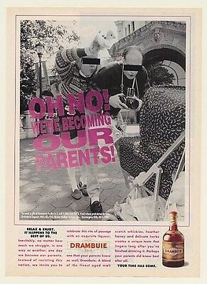 1993 We're Becoming Our Parents Drambuie Liqueur Ad