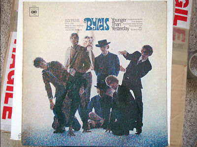 """Original Album Cover (Sleeve Only) """"the Byrds ..younger Than Yesterday"""""""