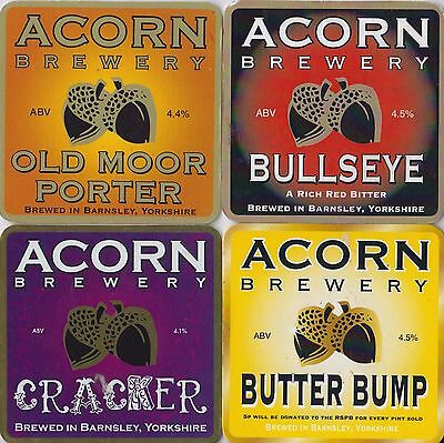 Four Acorn Brewery Beer Pump Clips