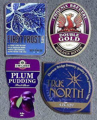 Four Beer Pump Clips From Manchester Breweries