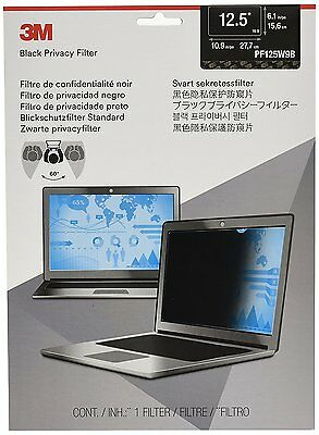 "3M Privacy Screen Protector for 12.5"" Widescreen Laptop (16:9) PF125W9B"