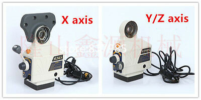 Best price ALSGS 110V 220V Power feed for Vertical milling machine X Y axis