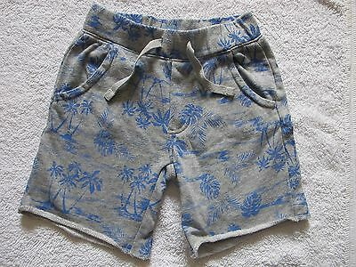 babyGap grey palm tree shorts age 5 years