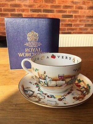 Royal Worcester VIP Cup and Saucer