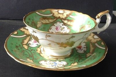 Antique Victorian Tea Cup Century Marked With Number @ 1890