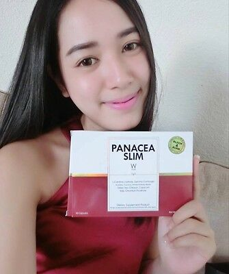 Fast Weight Loss, Panacea Slim W Plus, Wink White, D-tox, 30 x Capsules
