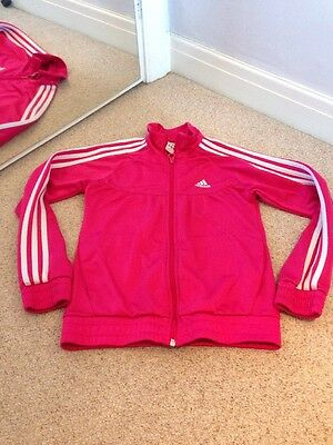 Girls adidas tracksuit top Age 11-12 Years