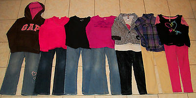 Girls Clothes/Outfits Lot of 14 Size 8 winter