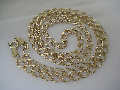 Vintage Italian 9CT Gold Chain Necklace