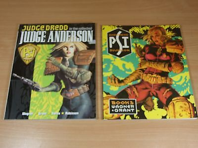 2 Judge Dredd Graphic Novels Judge Anderson