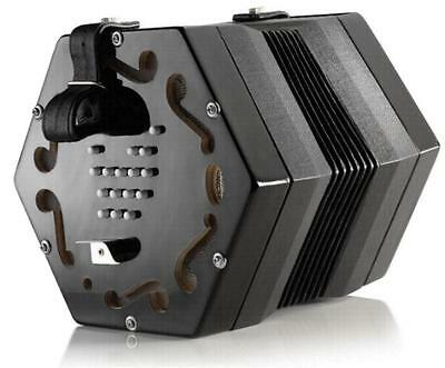 NEW Concertina Connection Jackie English Treble Concertina Black M 30 Button