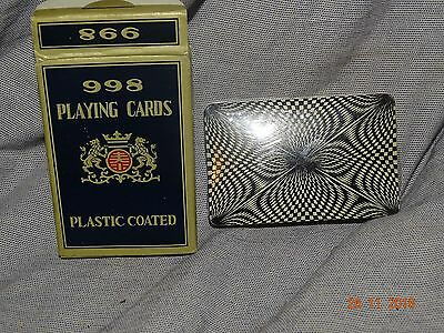 998 sealed psychedelic backed playing cards