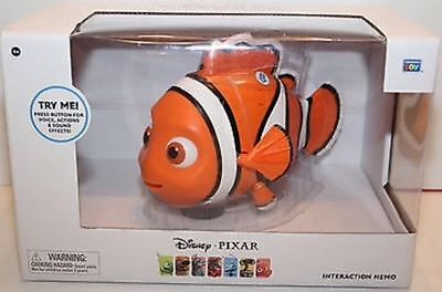 Disney Pixar Finding Nemo Interactive Talking Action Figure Toy Doll w SFX NEW