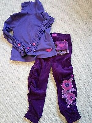 Little Darlings trousers top set 3 years
