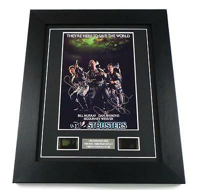 GHOSTBUSTERS Signed PREPRINT GHOSTBUSTERS FILM CELL 35MM MOVIE MEMORABILIA GIFT