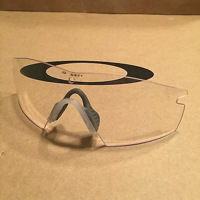 ***Oakley M Frame Clear Lens SI Z87 New Lens Fast Free S/H**