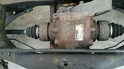 2007 BMW 1 SERIES E81 118d MANUAL REAR DIFF DIFFERENTIAL 3.07 RATIO