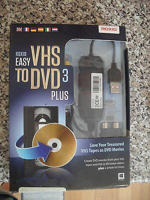 Roxio Easy Vhs To Dvd 3 Plus Software