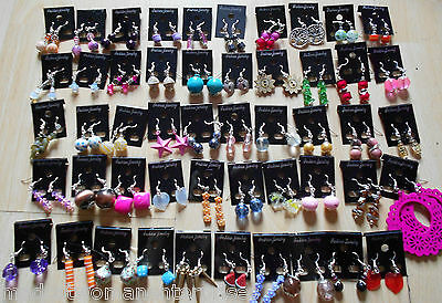 wholesale job lot 50 pairs of earrings - lucky dip - ideal for fundraising