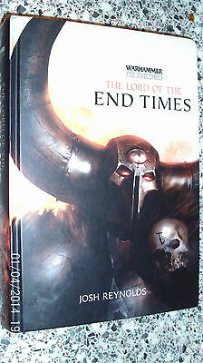 Black Library Warhammer End Times Lord Of The End Times Hardback Novel 1st 2015