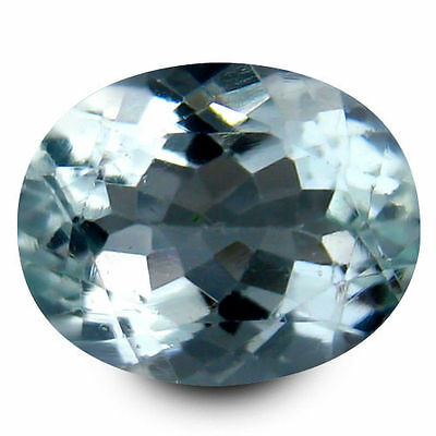 2.045Cts Gorgeous Amazing Blue Green Natural Aquamarine Oval Gemstones
