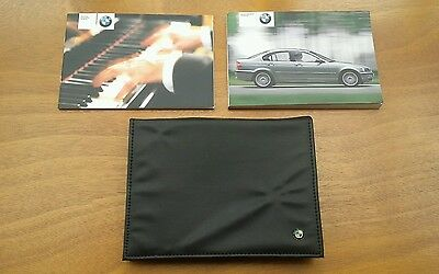 BMW 3 Series E46 Owners Manual / Handbook + Audio Guide + Wallet - (2001 - 2005)