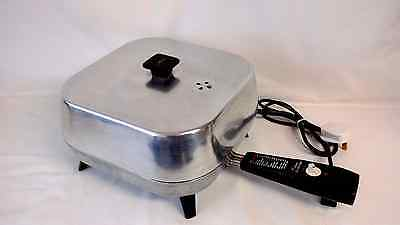 Vintage SUNBEAM Electric Frying Pan Skillet 1950s excellent condition + WORKING