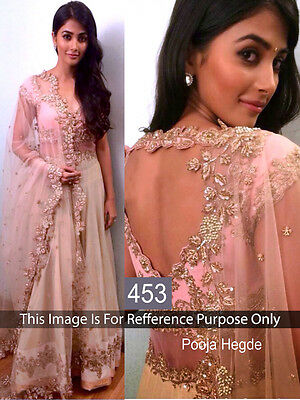 Bollywood Designer Woman Party Wear Ethnic Net New Lehenga Choli Saree Wedding