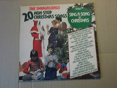 The Swingalongs - Sing A Song Of Christmas Lp