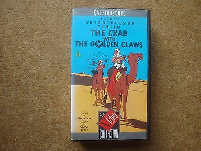 The Crab with the Golden Claws - rare Belvision film on VHS Video