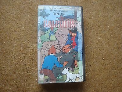 The Calculus Case - rare Belvision film on VHS Video