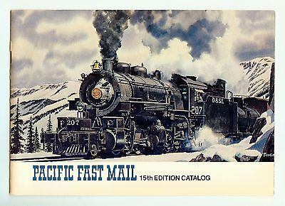 Pacific Fast Mail 15th Edition Catalog HO Brass Locomotive PFM Litho In USA