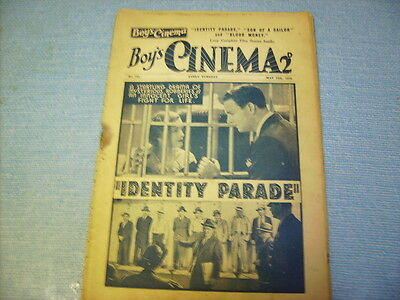 BOYS CINEMA issue 752 -FILM REVIEWS 1934 -  JOHNNY MACK BROWN FEATURE