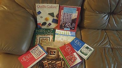 Lot Quilt Pattern Books-Christmas-Journals-Quilts-Scrap Quilts-Wedding Ring-More