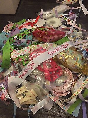*JOBLOT* 1000s Meters Of Ribbon. All Colours, All Sizes, All Patterns.