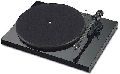 Project Debut Carbon Turntable DC Piano Black OM 10 Pro-Ject List$599 Xmas Sale