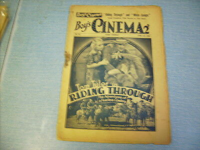BOYS CINEMA issue 755 -FILM REVIEWS 1934 - TOM TYLER FEATURE