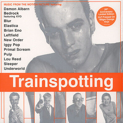 TRAINSPOTTING - OST - 2LP / Orange Vinyl - 20th Anniversary Limited Edition