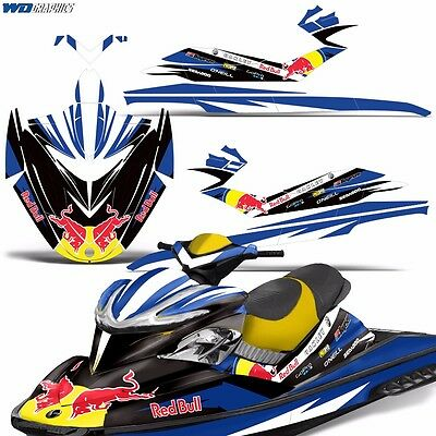 Decal Graphic Kit SeaDoo Jet Ski Wrap Jetski Bombardier Part Sea-Doo RXP 04-11 r