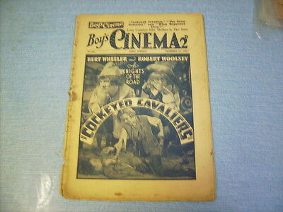 BOYS CINEMA issue 781 -FILM REVIEWS 1934 - WHEELER & WOOLSEY FEATURE
