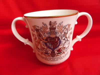 Royal Doulton Charles & Diana Wedding Loving Cup 1981