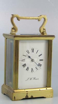 MODERN ENGLISH CARRIAGE CLOCK by BENSON for reassembly & service