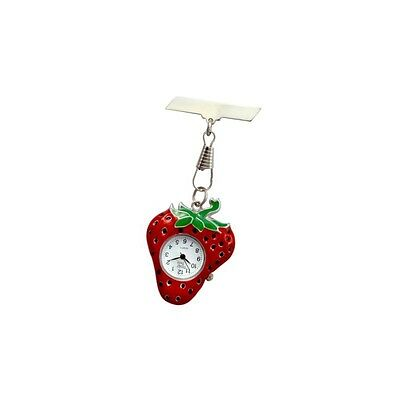 Funkyfobz Strawberry Fob Watch Perfect Gift for Midwife Nurse Beauty Therapist