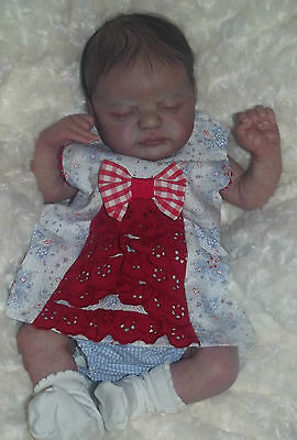 REBORN BABY GIRL~AMERICUS by LAURA LEE EAGLES~LITTLE BLOSSOMS NURSERY~SOLD OUT