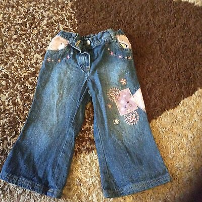 Girls blue jeans age 1-11/2 years