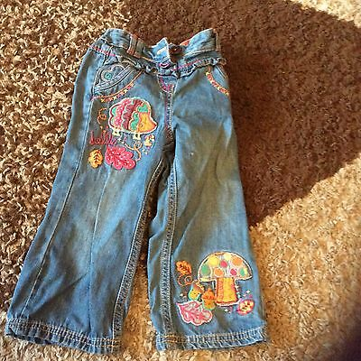 Girls blue jeans age 11/2-2 years