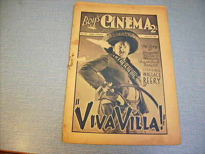 BOYS CINEMA issue 760 -FILM REVIEWS 1934 - WALLACE & BARRY LUPINO FEATURE