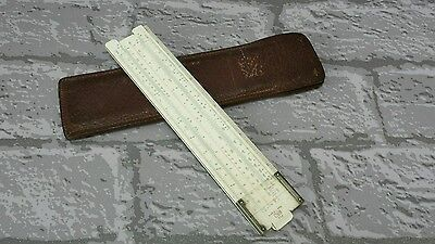 """Collectable Vintage """"SKF"""" Ruler with Leather Case."""